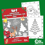 101 Free Printable Christmas Coloring Pages for Kids