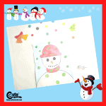 Snowman and Dice Fun Math Games for Kids with Free Printable Worksheets (4-6 Year Olds)