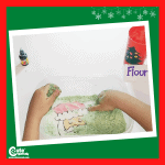 Where is Santa Claus? Sensory Activities for Preschoolers with Free Printable Worksheets (2-4 Year Olds)